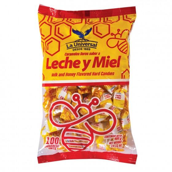 CARAMELO DE LECHE Y MIEL
