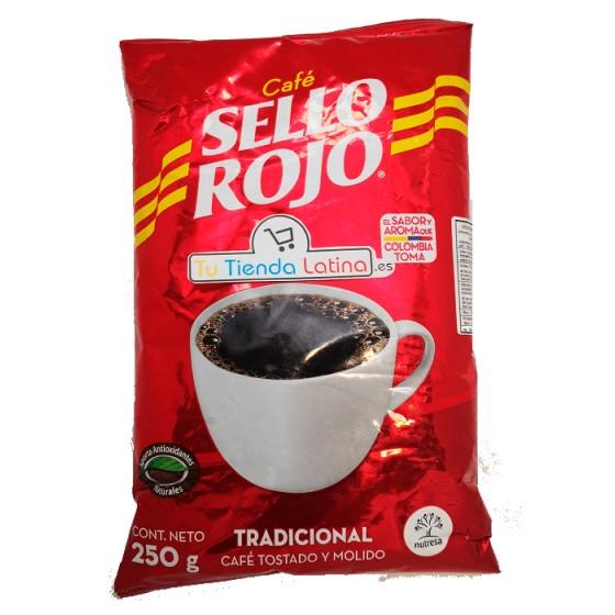 CAFÉ MOLIDO SELLO ROJO